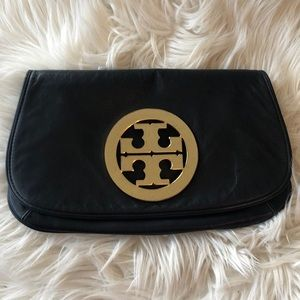 Pre Loved authentic Tory Burch clutch